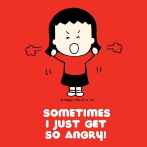 ANGRY Little Asian girl by Lea Lee